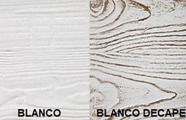 Colores y texturas vigas decorativas de poliestireno